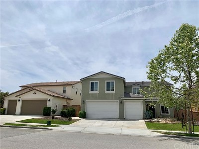 Lake Elsinore Single Family Home For Sale: 34121 Camelina Street