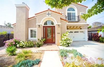San Gabriel Single Family Home For Sale: 709 Santa Ynez Lane