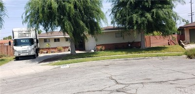 La Puente Single Family Home For Sale: 14535 Culp Street