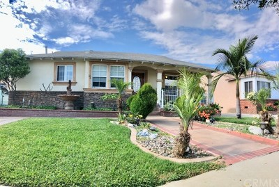 Downey Single Family Home For Sale: 11242 Buell Street