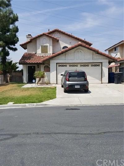 Rialto Single Family Home For Sale: 2886 Park Vista Drive
