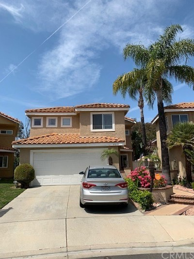 Chino Hills Single Family Home For Sale: 15609 Ladera Vista Drive