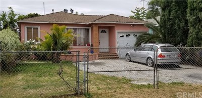 Compton CA Single Family Home For Sale: $399,900