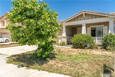 Perris Single Family Home For Sale: 1038 Bunting Way
