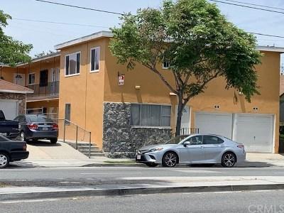 Long Beach Multi Family Home For Sale: 6769 Cherry Avenue