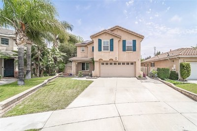 Rancho Cucamonga Single Family Home For Sale: 11872 Brandywine Pl