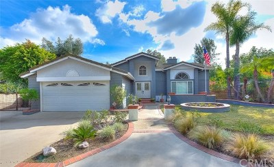 Chino Hills Single Family Home For Sale: 2091 Halite Court