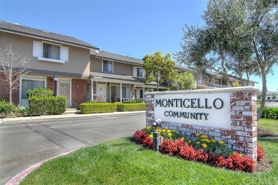 Costa Mesa Condo/Townhouse For Sale: 2423 Minuteman Way