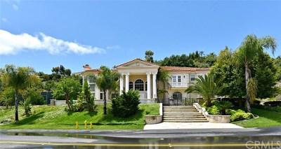 Diamond Bar Single Family Home For Sale: 2869 Oak Knoll Drive