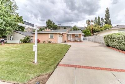 Glendora CA Single Family Home For Sale: $599,900