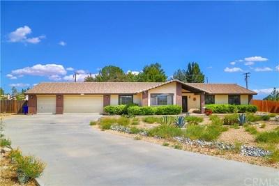 Apple Valley Single Family Home For Sale: 18585 Seneca Court