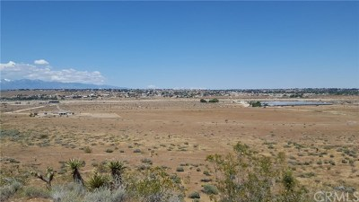 Apple Valley Residential Lots & Land For Sale: Juniper Drive