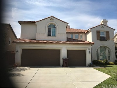 Murrieta Single Family Home For Sale: 42537 Vancouver Place