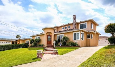 Temple City Single Family Home For Sale: 5587 Noel Drive