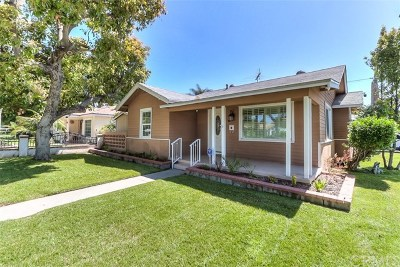 Upland Single Family Home Active Under Contract: 294 S Campus Avenue