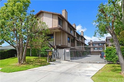 Monrovia Condo/Townhouse For Sale: 912 W Foothill Boulevard #B