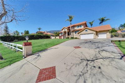Rancho Cucamonga Single Family Home For Sale: 10716 Boulder Canyon Road