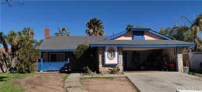 Moreno Valley Single Family Home For Sale: 14572 Aruba Place