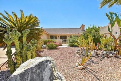 Desert Hot Springs Single Family Home For Sale: 9460 Capiland Road