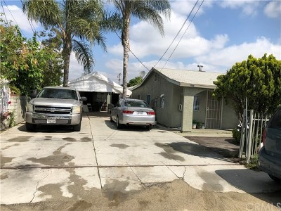 El Monte Multi Family Home For Sale: 2235 Bryce Road