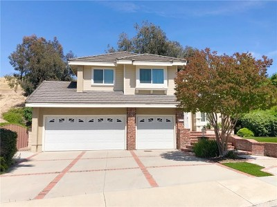 Chino Hills Single Family Home Active Under Contract: 15291 Green Valley Drive
