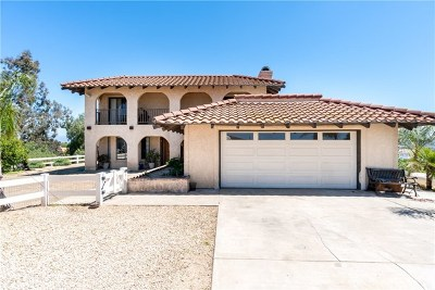 Murrieta Single Family Home For Sale: 40151 Circle Hill Drive