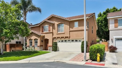 Chino Hills Single Family Home For Sale: 16430 Swiftwing Court
