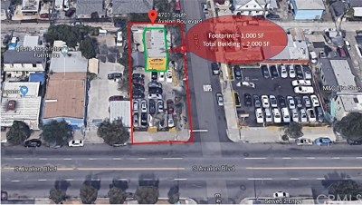Los Angeles Commercial For Sale: 4701 Avalon Boulevard