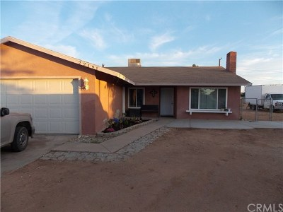 Apple Valley Single Family Home For Sale: 22191 Tehama Road