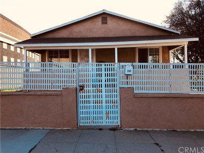 Corona Single Family Home For Sale: 110 N Belle Avenue