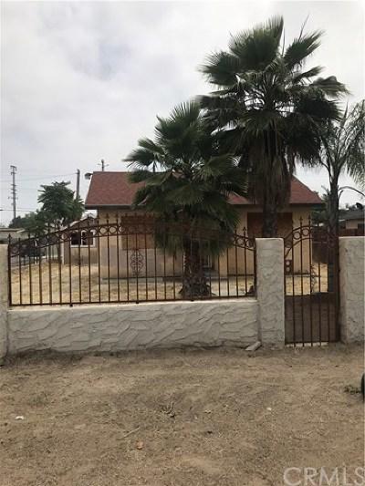 San Bernardino Single Family Home For Sale: 8037 Sunnyside Avenue