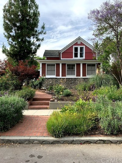 Claremont Single Family Home For Sale: 421 W 7th Street