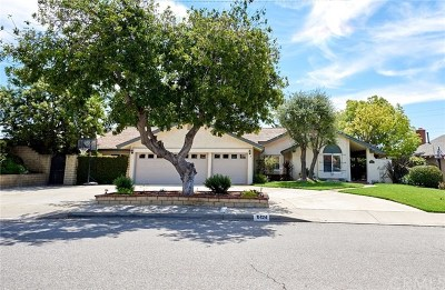 La Verne Single Family Home For Sale: 6424 Canterwood Road