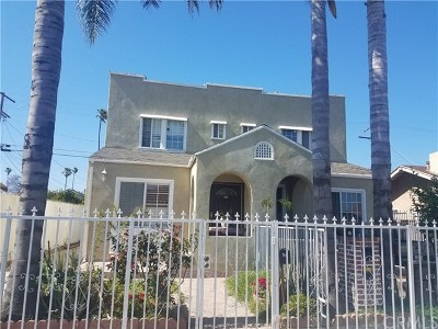 Multi Family Home For Sale: 713 W 49th Place