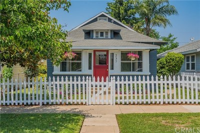 Glendora Single Family Home Active Under Contract: 237 S Wabash Avenue