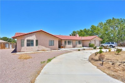 Apple Valley Single Family Home For Sale: 20382 Ituma Road