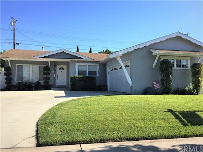 La Habra Single Family Home For Sale: 410 Las Lomas Drive