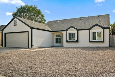 Oceanside Single Family Home For Sale: 613 Myrtlewood Court