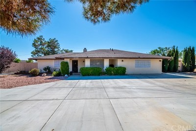 Apple Valley Single Family Home For Sale: 12769 Tesuque Road