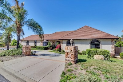 Upland Single Family Home For Sale: 2487 Cliff Road