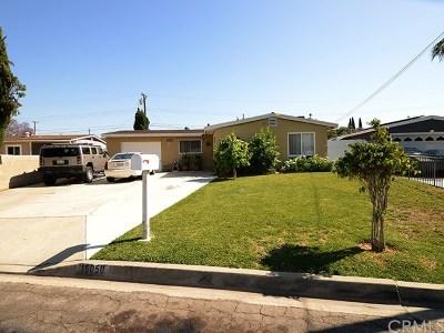 La Puente Single Family Home For Sale: 15050 Beckner Street