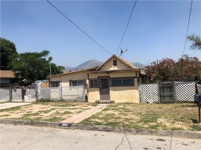 San Bernardino Single Family Home For Sale: 3153 Mountain Avenue