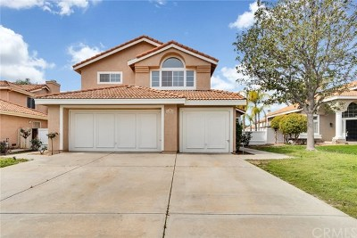 Murrieta Single Family Home For Sale: 23893 Corinth Drive