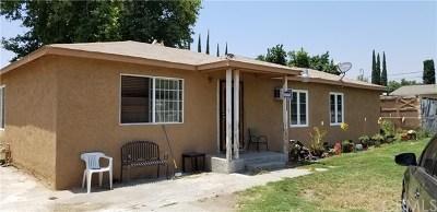 San Bernardino Single Family Home For Sale: 2378 State Street N