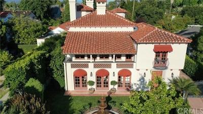 Pasadena Single Family Home For Sale: 616 S Sierra Bonita Avenue