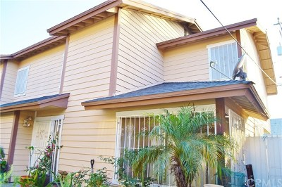Long Beach Condo/Townhouse For Sale: 1407 Linden Avenue