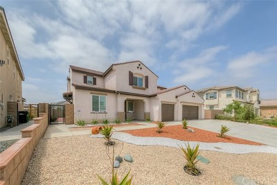 Eastvale Single Family Home Active Under Contract: 14881 Henry Street