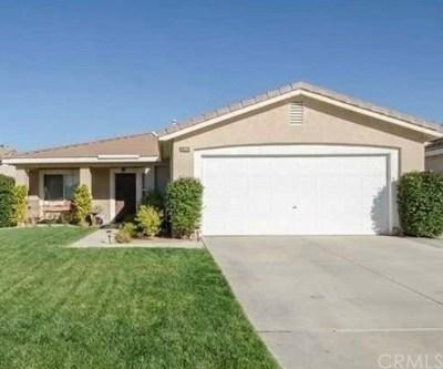 Menifee Single Family Home For Sale: 30236 Lakeport Street