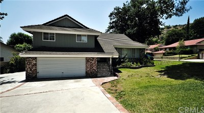 San Dimas Single Family Home For Sale: 1929 Hawkbrook Drive