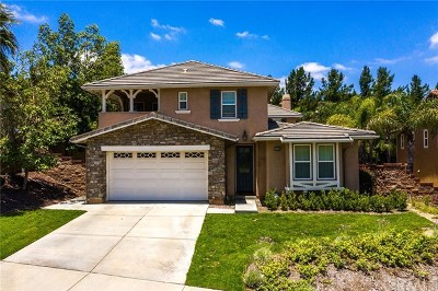 Chino Hills Single Family Home For Sale: 5140 Buckwheat